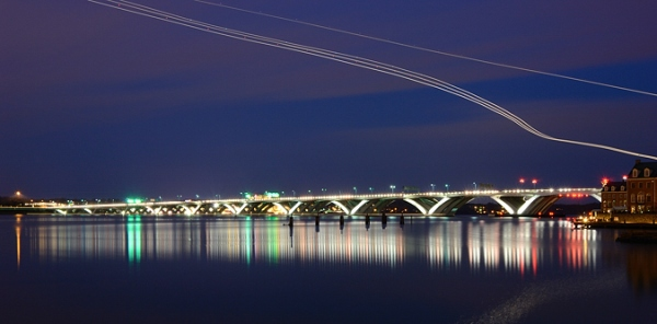 Woodrow Wilson Bridge at Night