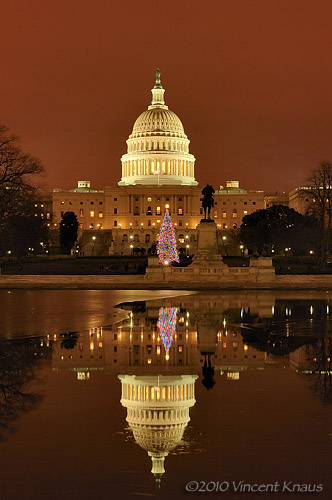 US Capitol and Reflecting Pool