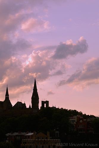 Georgetown from the Key Bridge