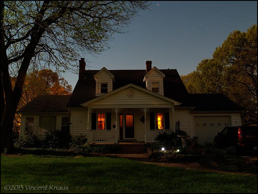 Moonlit House