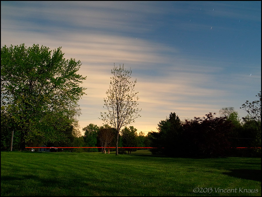 Moonlit Yard