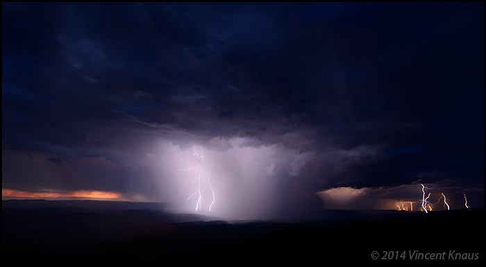 Storm Clouds and Lightning
