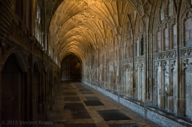 Cloisters, Gloucester Cathedral