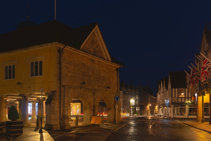 Tetbury at Night